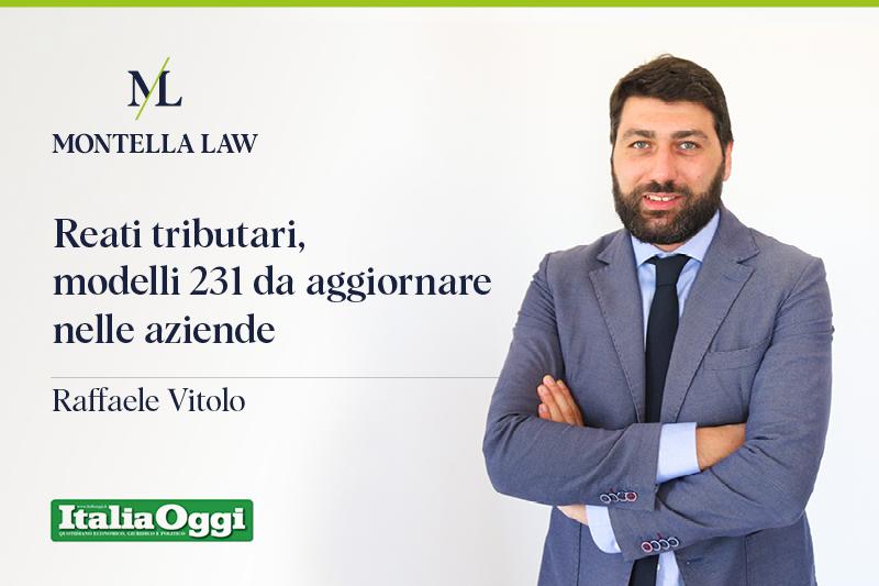 Avvocato Raffaele Vitolo Montella Law