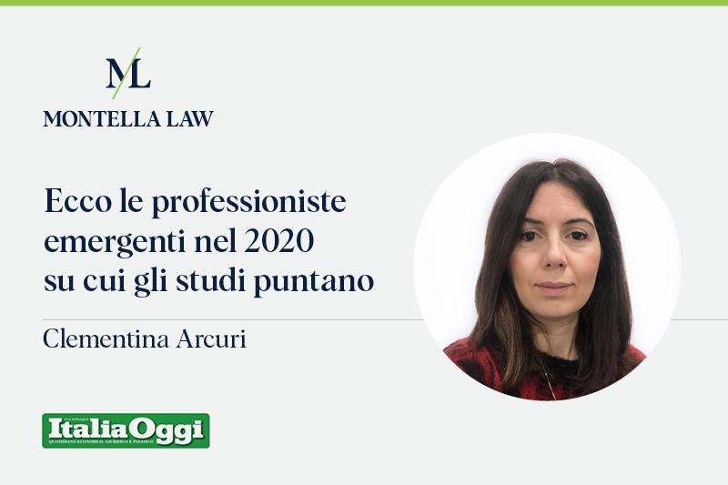 Italia Oggi Clementina Arcuri