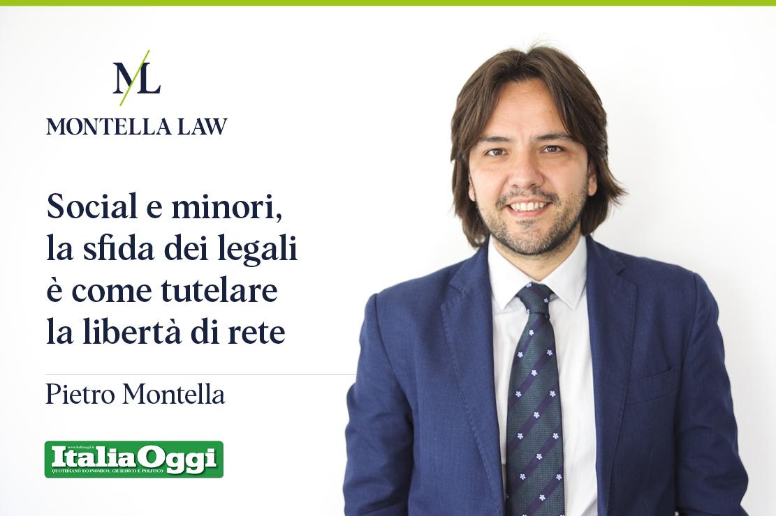 Italia Oggi social e minori